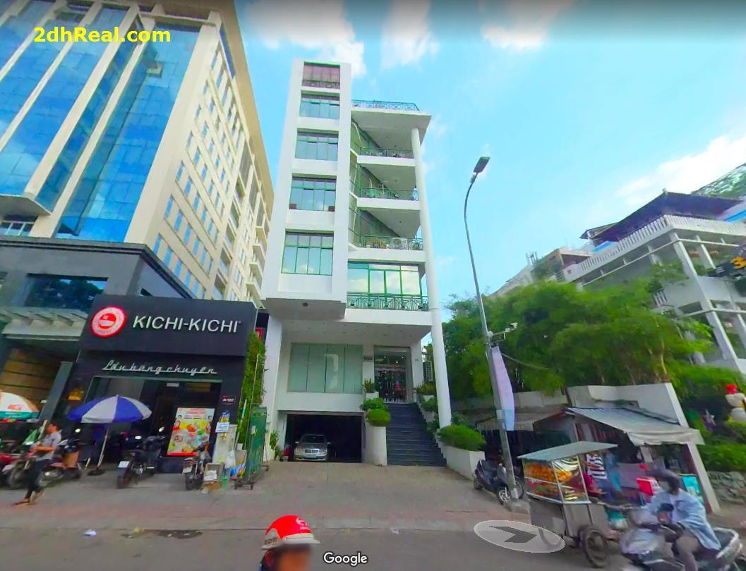 Bán Cao Ốc Văn Phòng 341 Nguyễn Trãi, phường Nguyễn Cư Trinh,  quận 1.