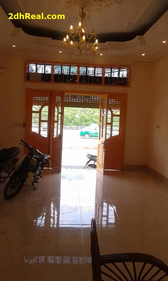 Bán Biệt thự mặt tiền số 216 Phan Văn Hân, Quận Bình Thạnh: 23,4m x 12m