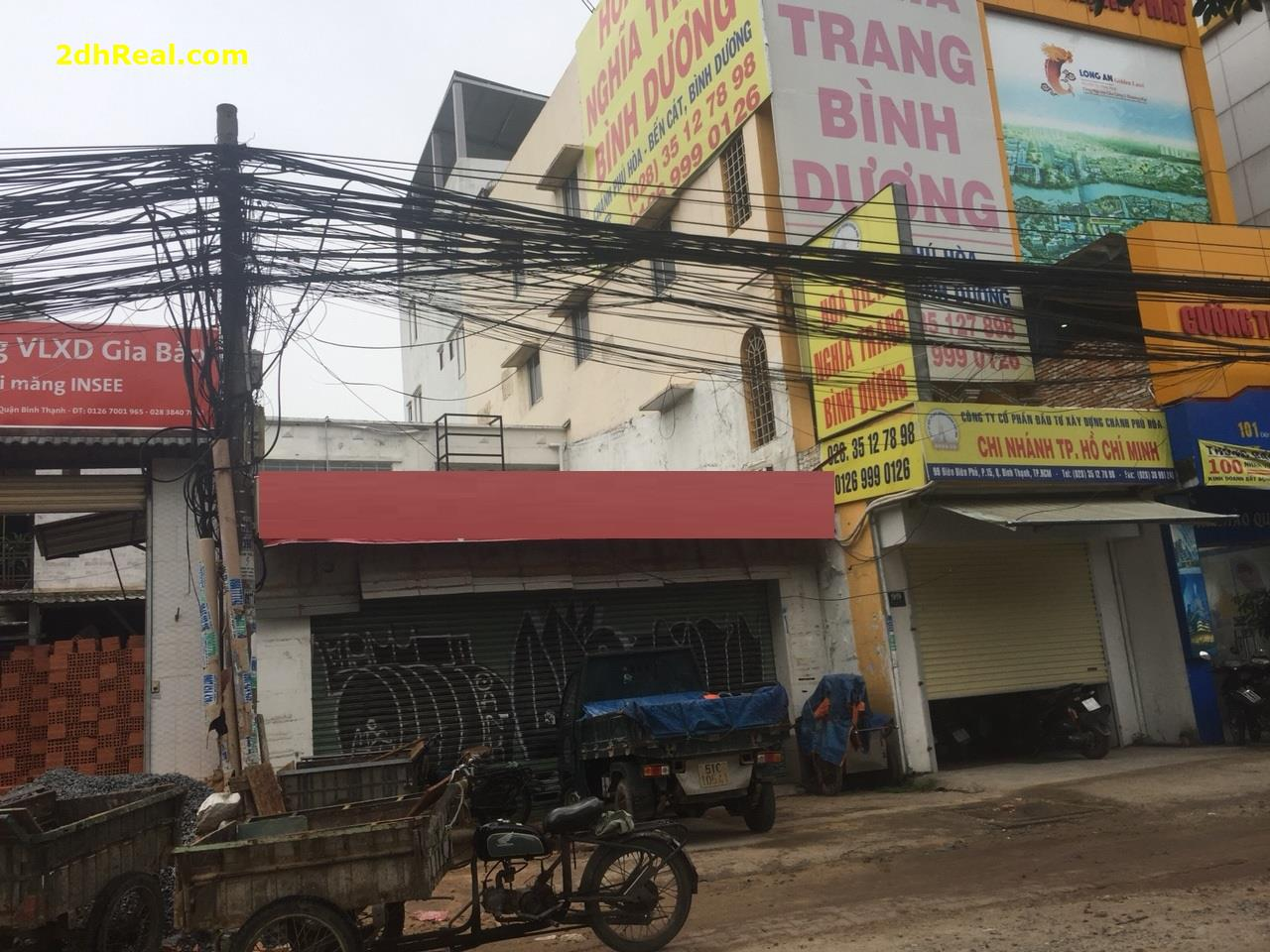 Cho thuê nhà mặt tiền Điện Biên Phủ, quận Bình Thạnh