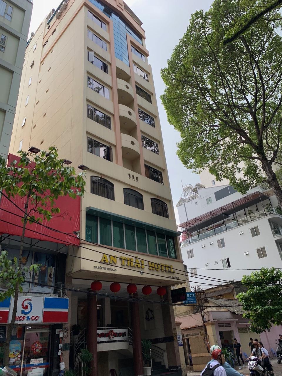 Bán Khách Sạn An Thái ,21B Bùi Thị Xuân, phường Bến Thành, Quận 1 ,TP.HCM