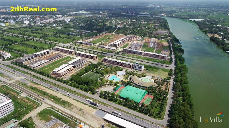 án nhà KĐT Lavilla Green City, TP Tân An, DT 5x20m, đúc 2 tấm, giá 3 tỷ