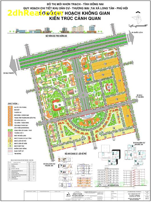 Chuyển nhượng dự án Khu Dân Cư Thương Mại Đô Thị Nhơn Trạch thuộc Xã Long Tân, Phú Hội, Đồng Nai 22,5ha