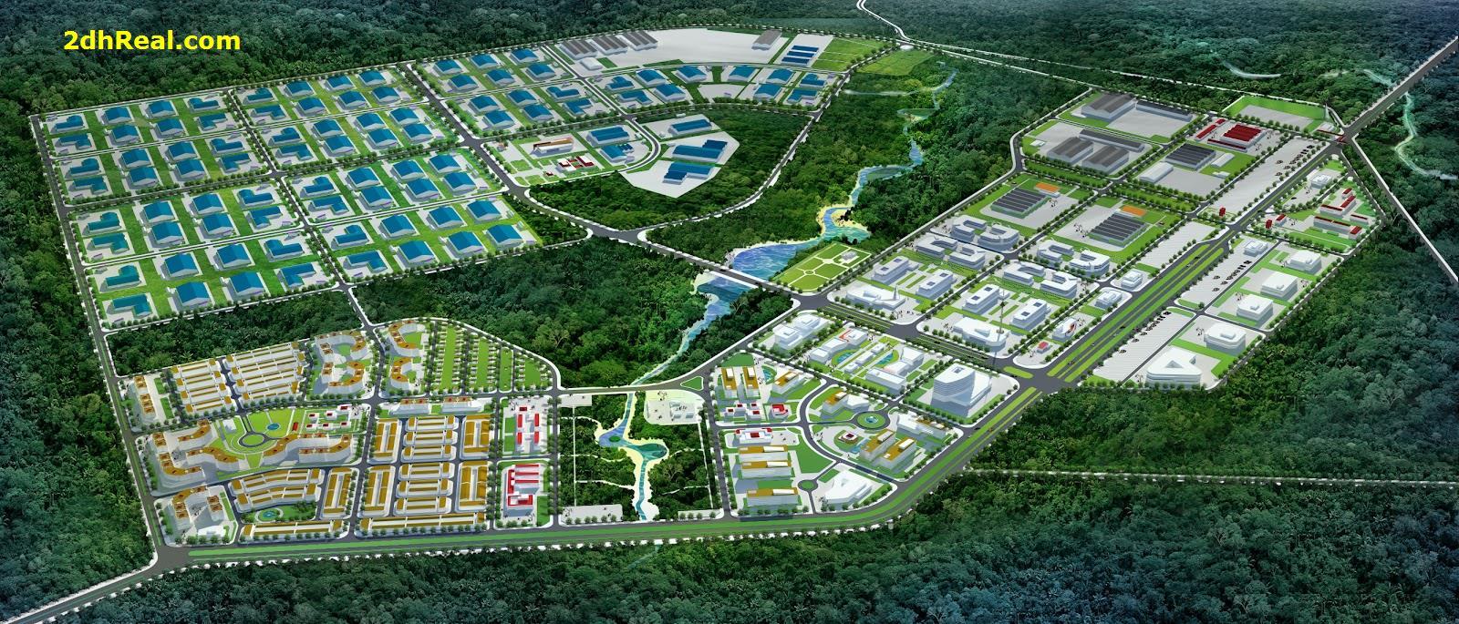 Tìm nguồn đầu tư tài chính dài hạn dự án Khu Công nghiệp Đức Hòa III - Slico GĐ1, Long An
