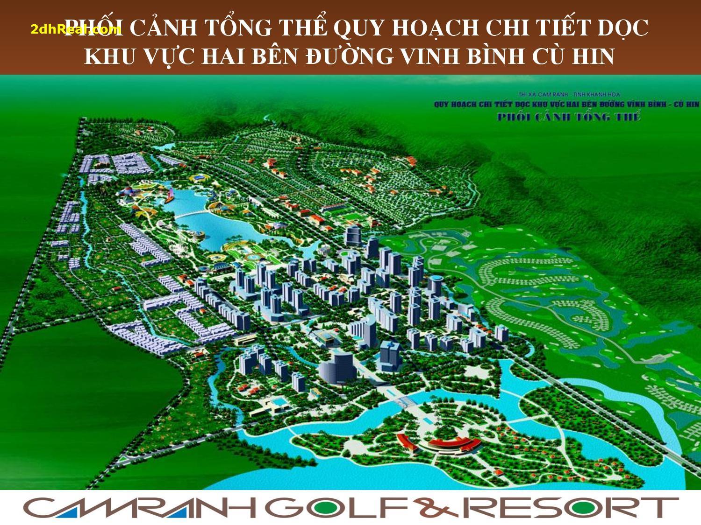 Bán dự án sân Golf 36 lỗ – Villa 172 hecta tại tỉnh Khánh Hoà