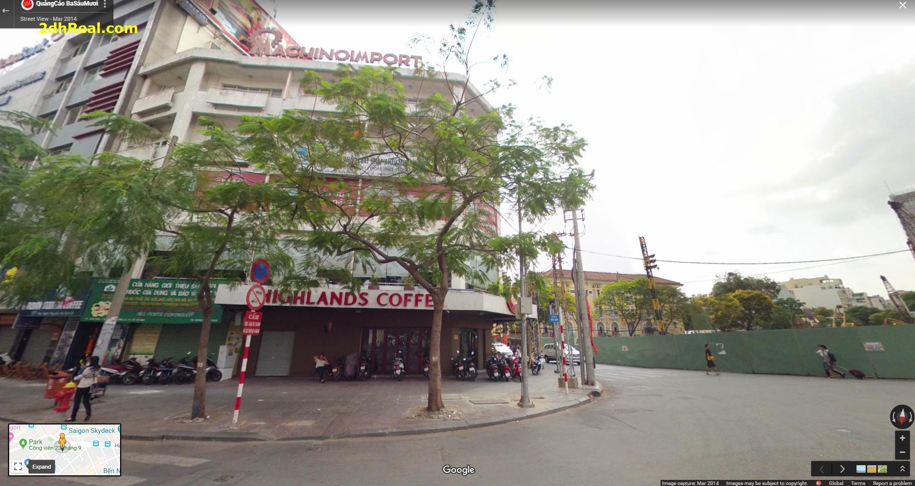Cho thuê 181 Hàm Nghi phường Nguyễn Thái Bình giá 75 Nghìn USD