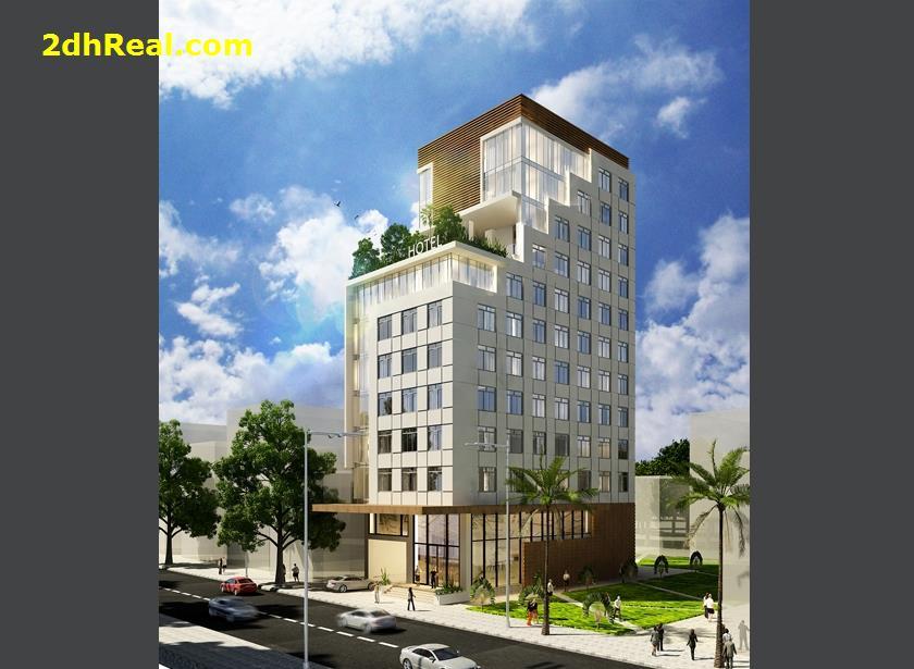 Cho thuê khách sạn 4 sao 110 phòng đường Pasteur, phường 6, quận 3, Tp.HCM – gần nhà thờ Đức Bà