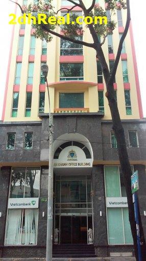 Bán Cao ốc mặt tiền số 208 Nguyễn Trãi, Quận 1: 20m x 30m