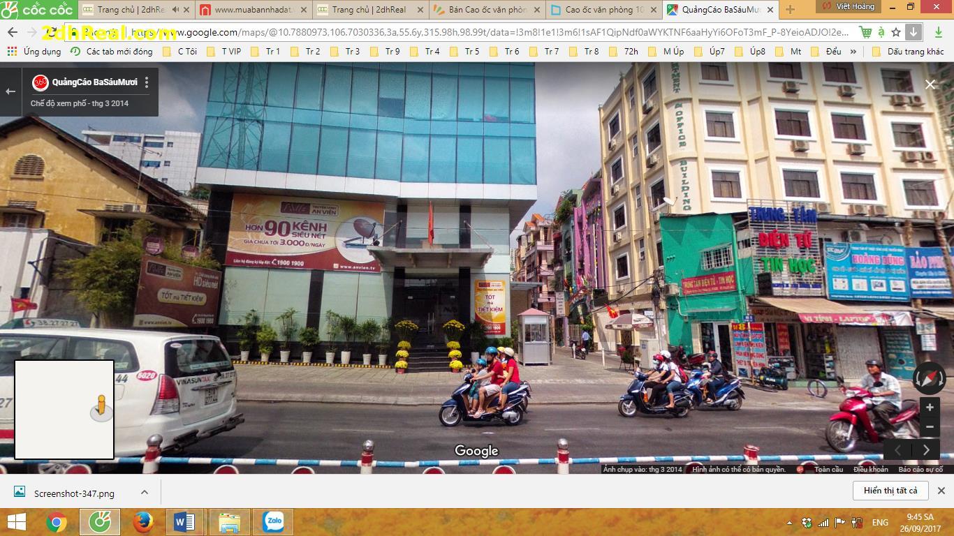 Bán Cao ốc văn phòng 10A Nguyễn Thị Minh Khai, Quận 1