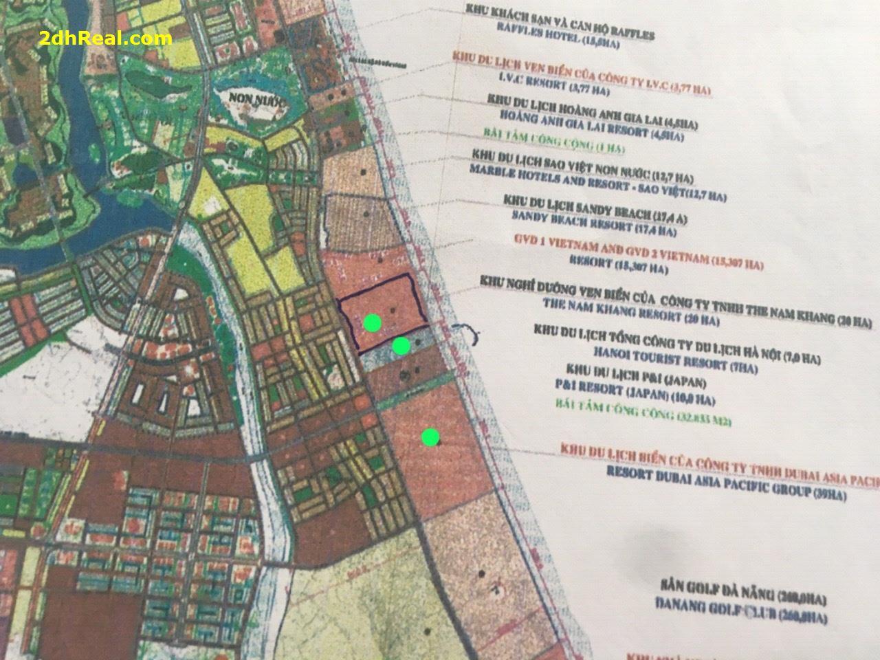 Bán dự án khu du lịch biển 39 hecta tại đường Trường Sa, phường Hoà Hải, quận Ngũ Hành Sơn, Tp Đà Nẵng