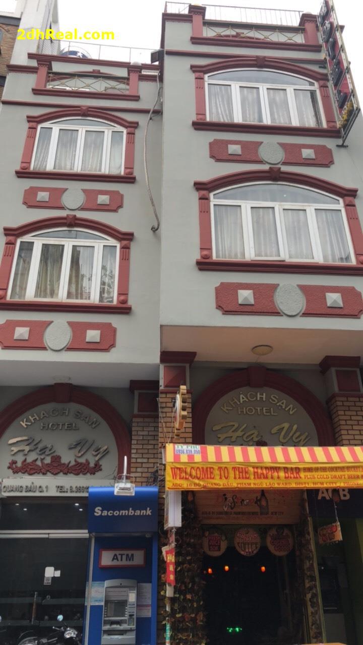 Bán Khách Sạn 16 phòng, 16 -18 Đỗ Quang Đẫu, phường Phạm Ngũ Lão, quận 1