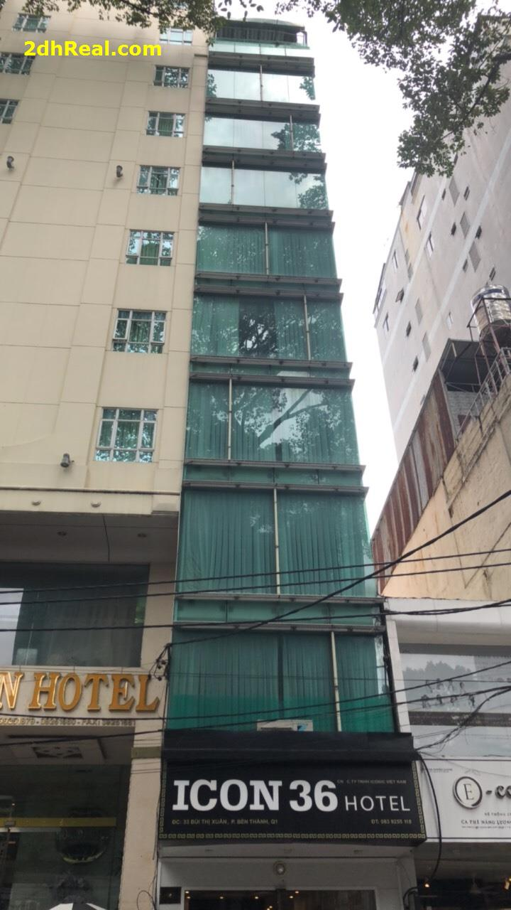 Bán Khách Sạn 37 phòng , 33 Bùi Thị Xuân , phường Bến Thành, quận 1