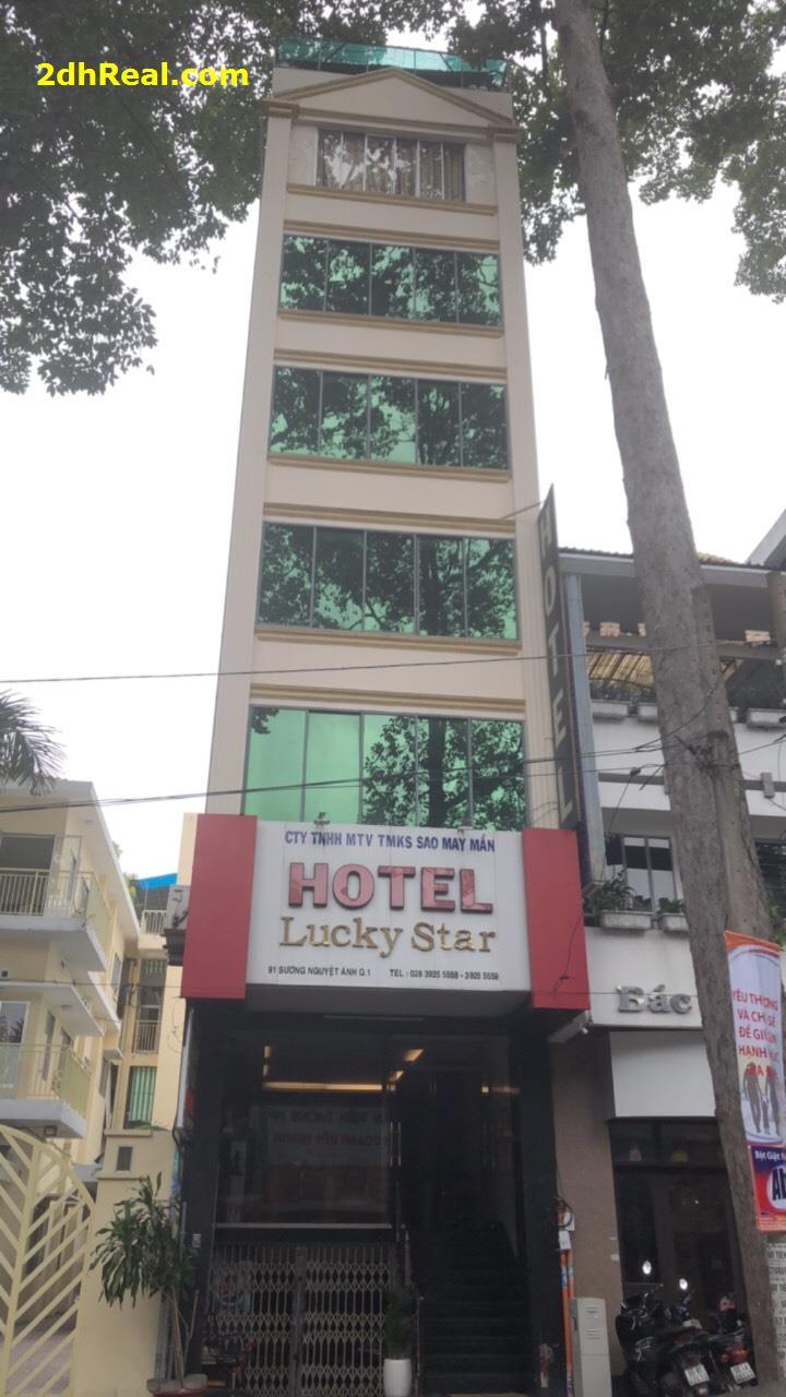Bán Khách Sạn Lucky Star , 91 Sương Nguyệt Ánh , phường Bến Thành, quận 1