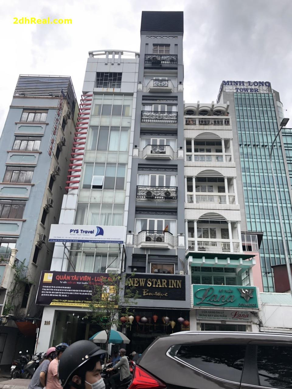 Bán Khách Sạn 40 phòng, 214 Nguyễn Thị Minh Khai, phường 6 , quận 3