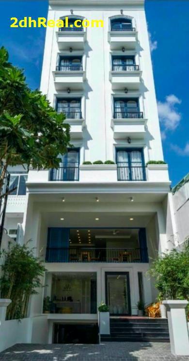 Bán toà nhà căn hộ dịch vụ 7 tầng Xuân Thủy P. Thảo Điền, Quận 2.DT:6.8×24m.Giá 50 tỷ