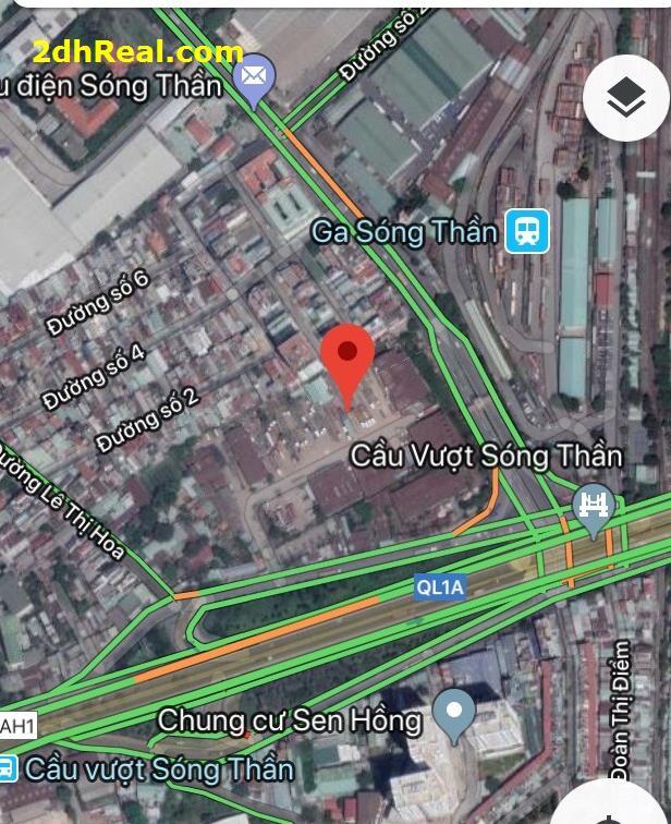 Cho thuê khu đất 22.940m2 mặt tiền Quốc lộ 1 và đường Độc Lập, quận Thủ Đức, Tp.HCM