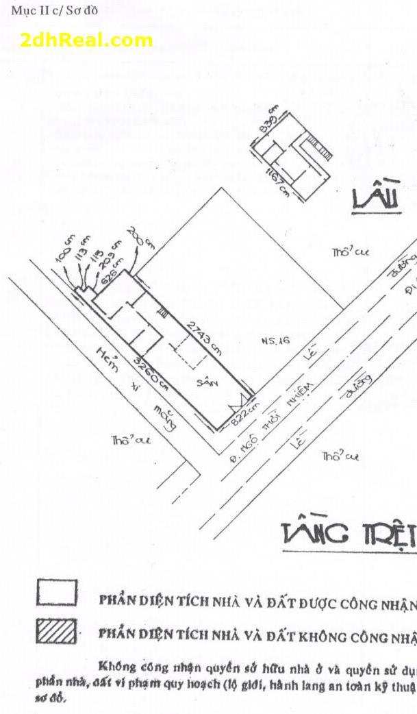 Bán nhà mặt tiền 16A Ngô Thời Nhiệm, phường 7, quận 3, Tp.HCM