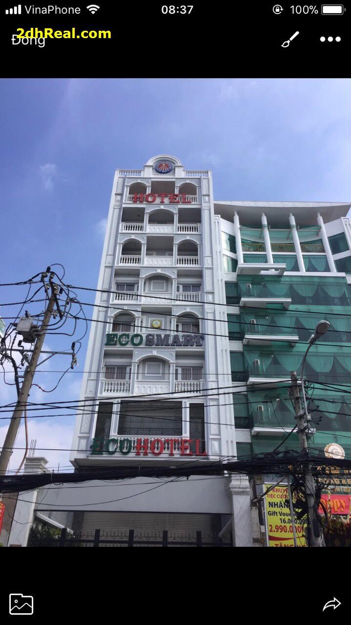 Bán khách sạn 548 Cách Mạng Tháng Tám quận 3