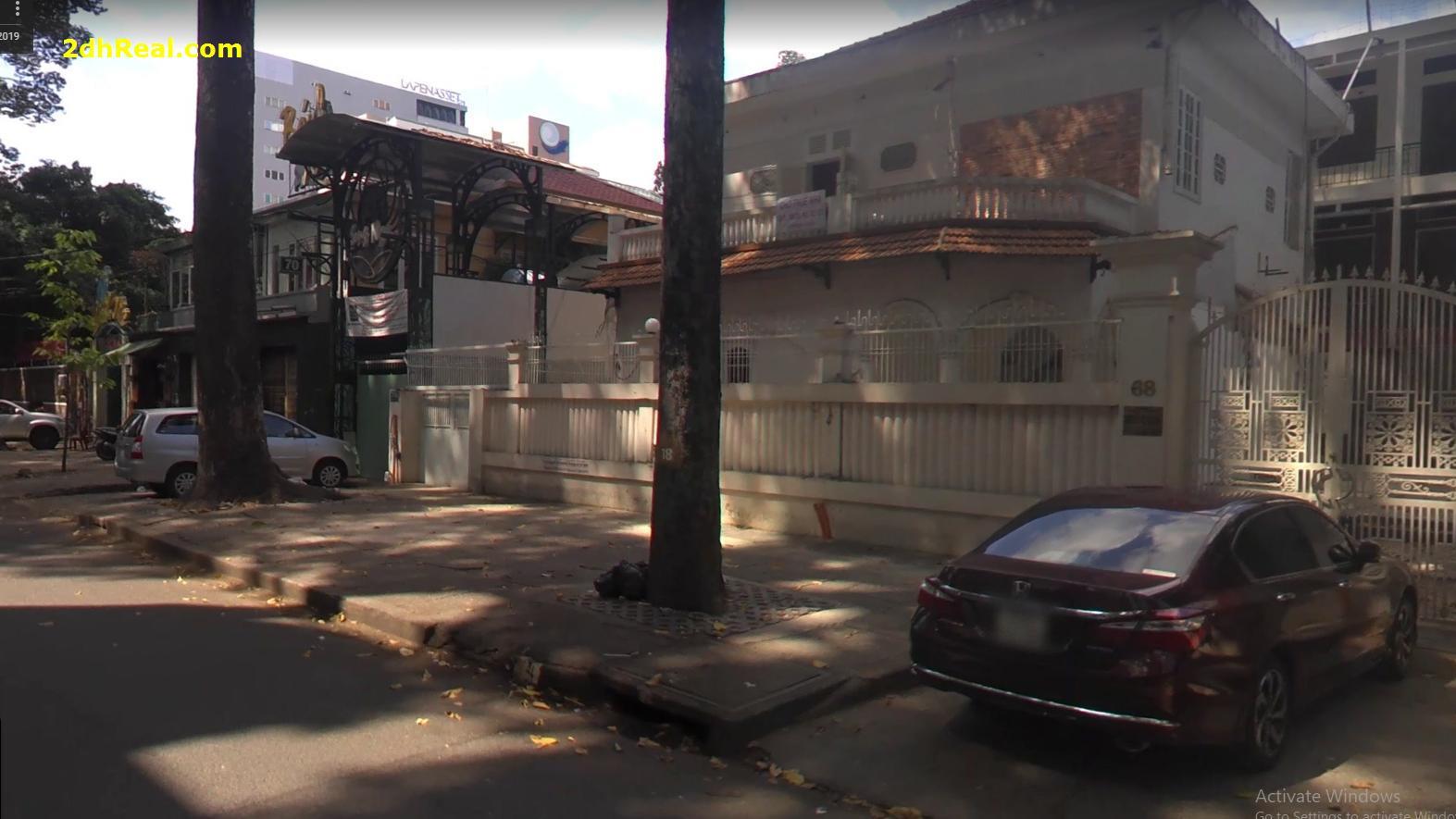 Bán nhà 68-70-72-74 Sương Nguyệt Ánh phường Bến Thành quận 1
