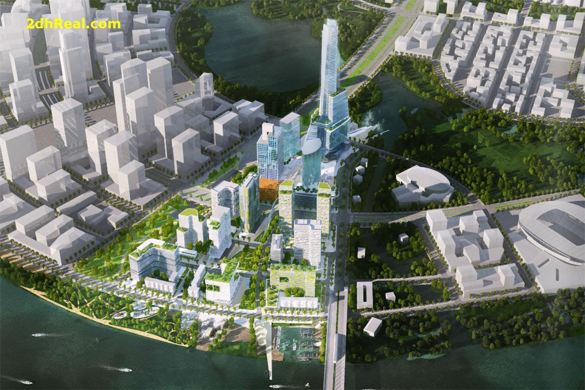 Bán dự án 11,434m2 với 3.532 căn chung cư cao tầng phường An Phú, quận 2, Tp.HCM