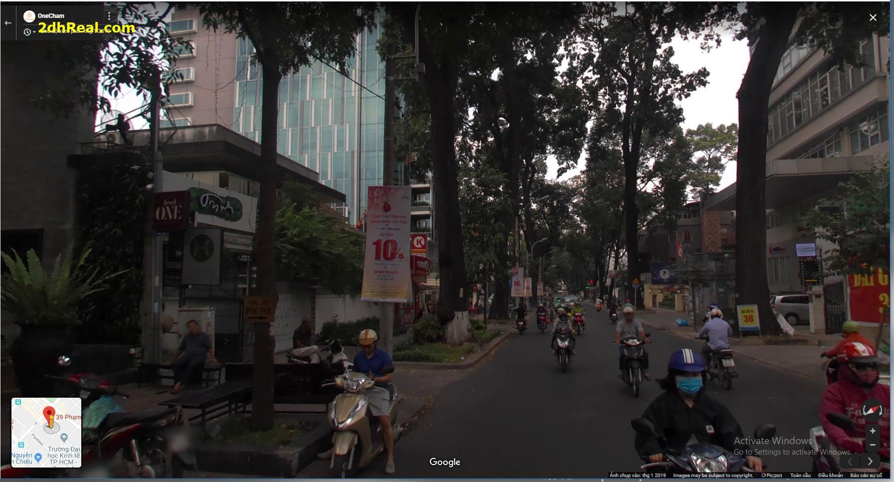 Bán nhà Phạm Ngoạc Thạch phường 6 quận 3 tp Hồ Chí Minh