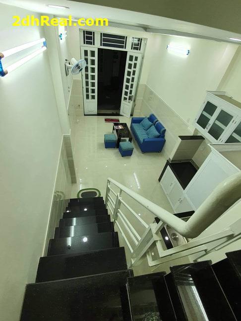 Bán nhà Trần Văn Quang, Tân Bình 3 tầng, 2PN, nhà mới giá 3,24 tỷ LH ngay 0908781675.