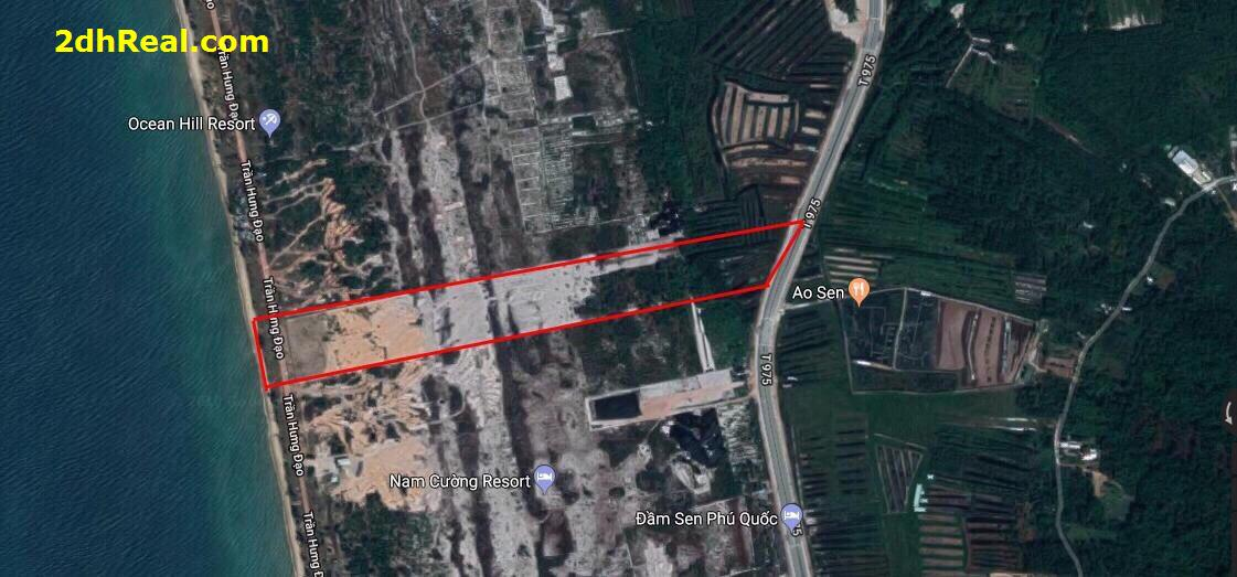 Bán dự án 21,6 hecta khu du lịch nghỉ dưỡng 5 sao tại khu phức hợp Bãi Trường, xã Dương Tơ, huyện Phú Quốc, tỉnh Kiên Giang