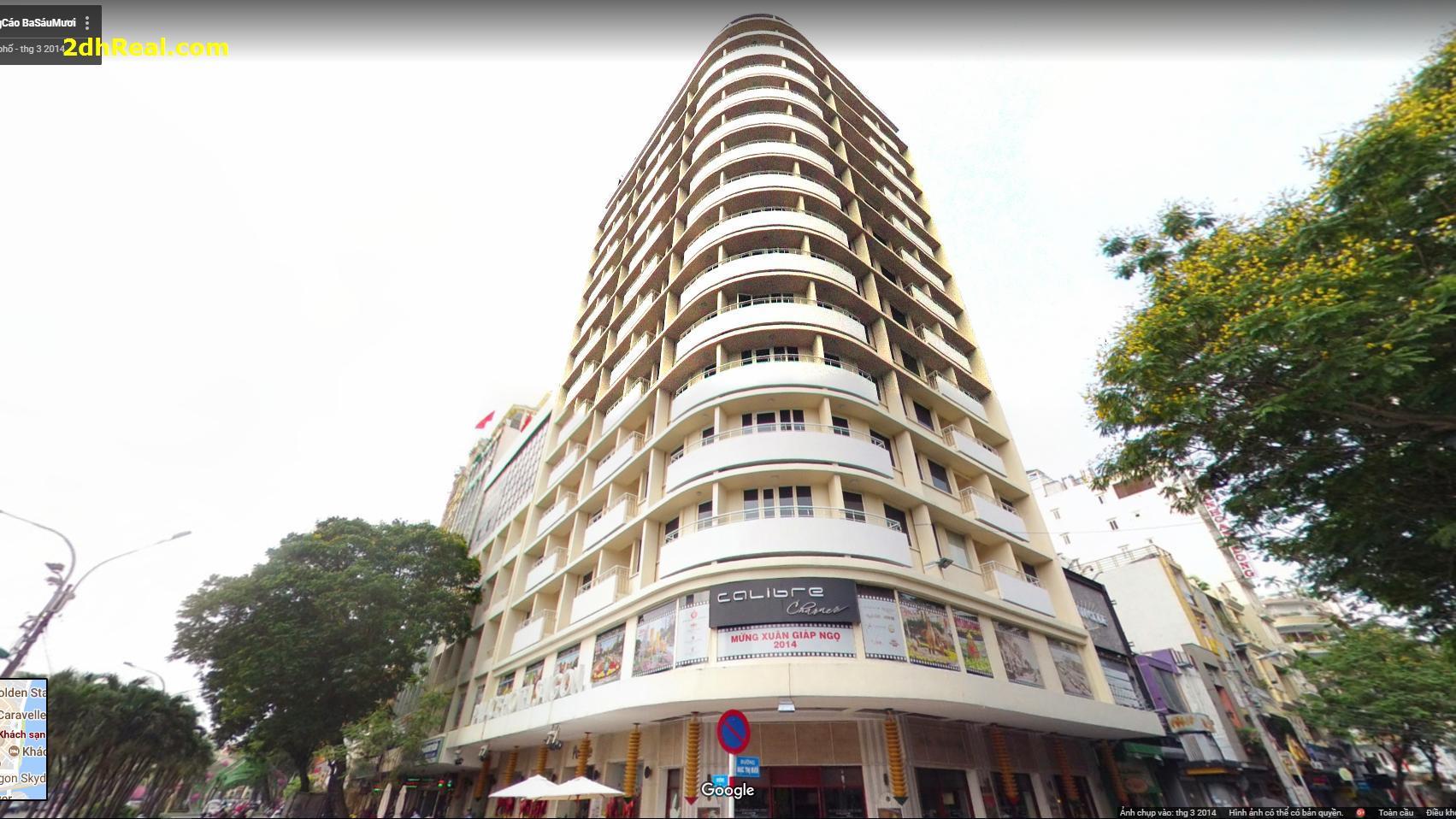 Bán Khách Sạn Sài Gòn Palace 56 – 66 Nguyễn Huệ phường Bến Nghé quận 1