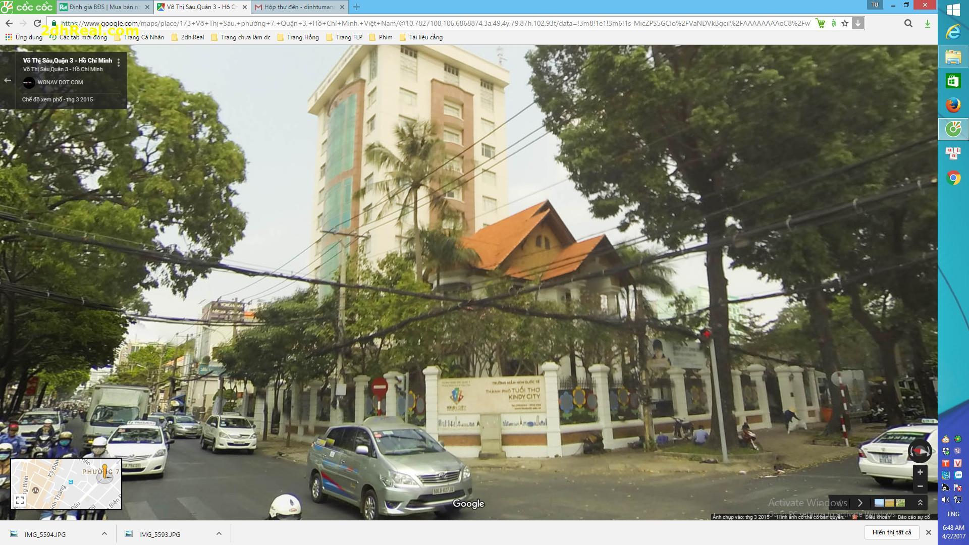 Bán Biệt thự mặt tiền số 57 Trần Quốc Thảo, Quận 3: 11.20m x 18m