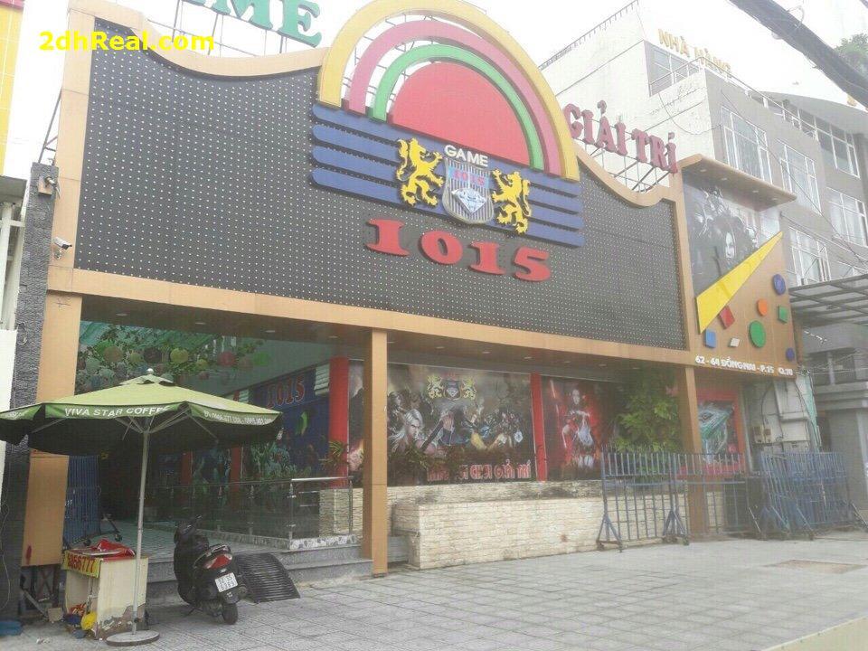 Cho thuê nhà mặt tiền số 62-64 Đồng Nai phường 15 quận 10 Tp.HCM. 18mx30m trệt + lầu 9.500$