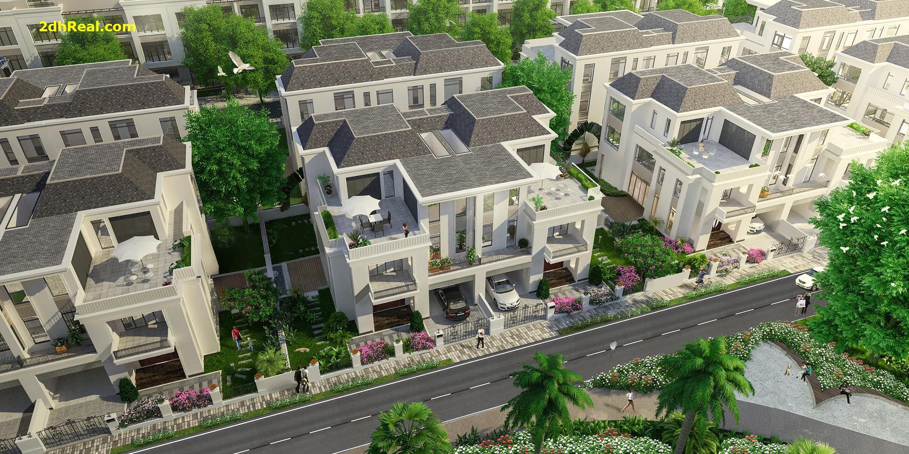 Bán dự án khu biệt thự 25 căn 2,8 hecta đường Nguyễn Xiển, phường Trường Thạnh, quận 9, Tp.HCM