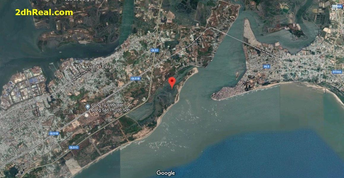 Bán dự án Khu du lịch nghỉ dưỡng Saigon Atlantis Hotel 918 ha tại Phường 11, 12 Tp. Vũng Tàu