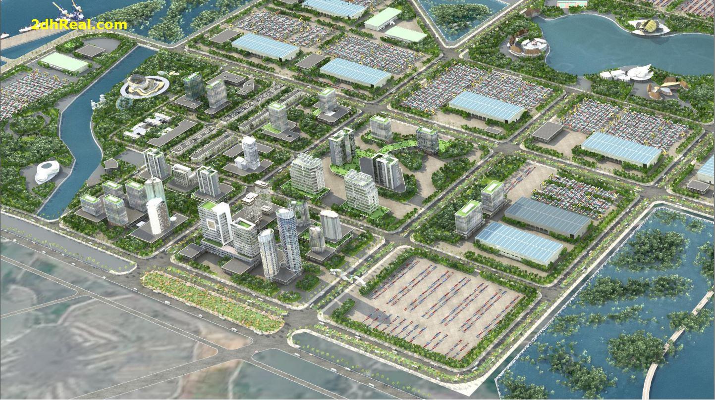 Tìm nguồn tài chính đầu tư dài hạn dự án Cảng Cái Mép Hạ, 1600ha