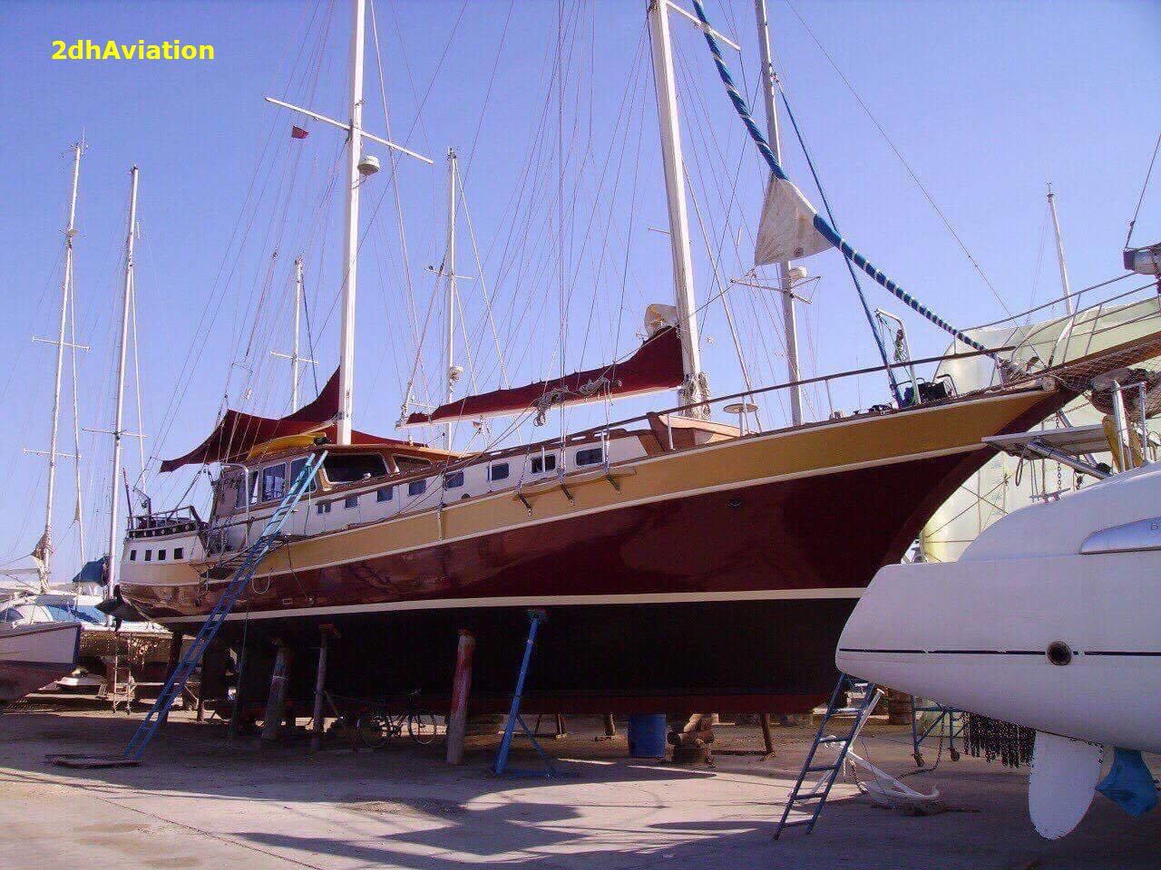 Bán du thuyền Biriwa trọng tải 47 tấn
