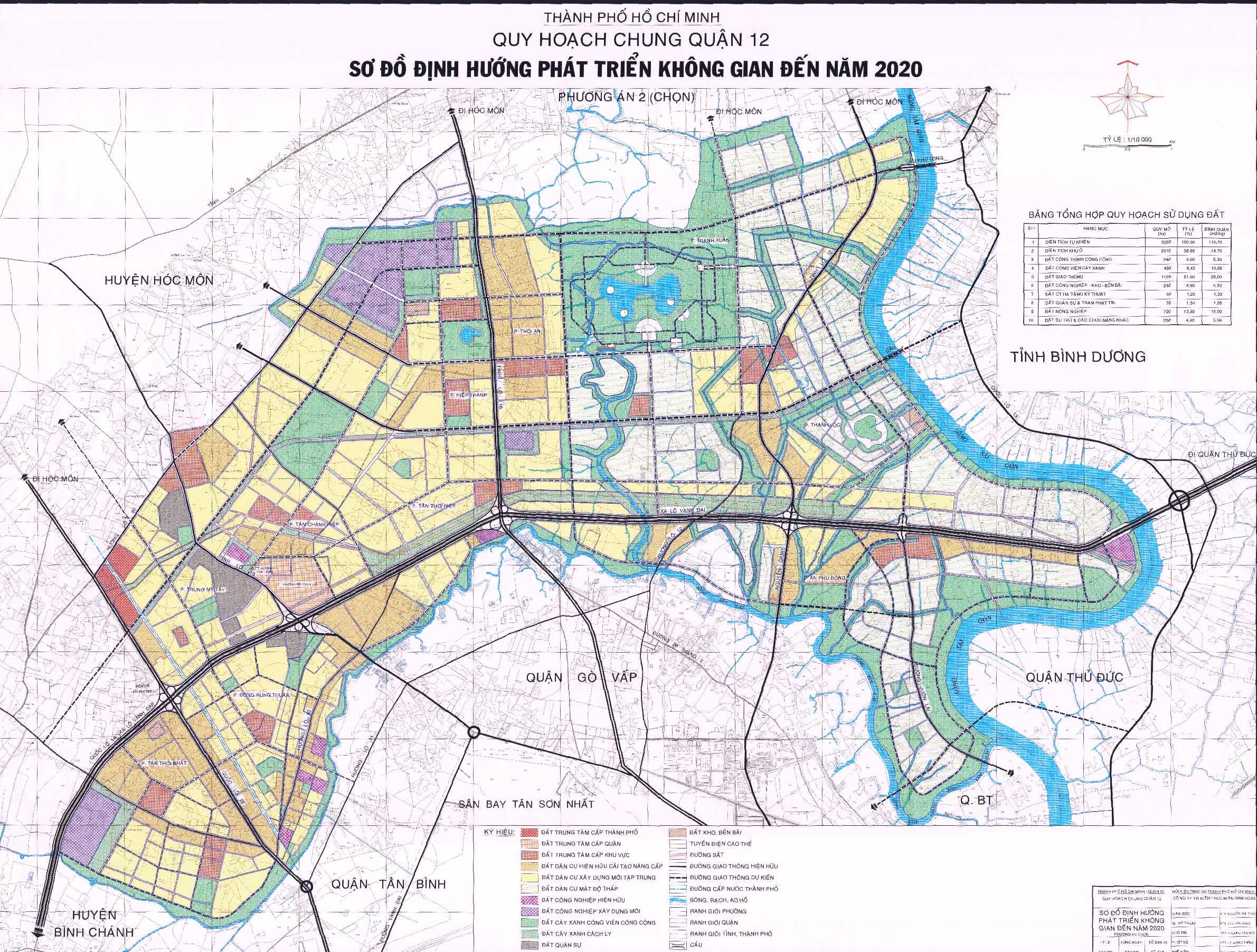 Cần mua 4 khu đất từ 3,5 hecta đến trên 70 hecta tại Quận 12 Tp.HCM