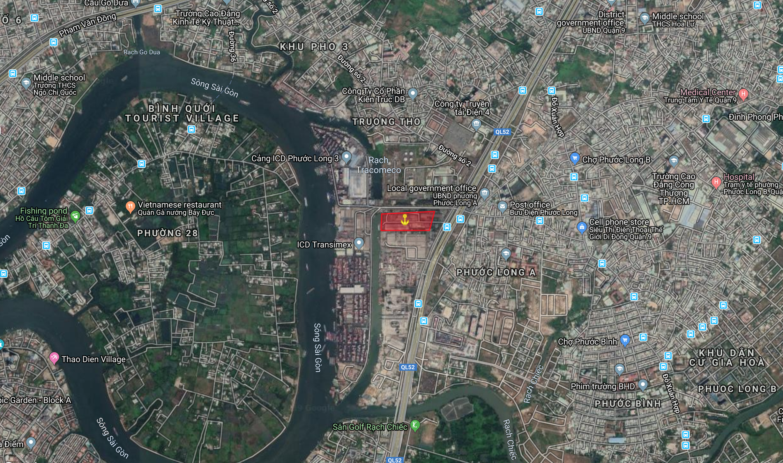 HCM | Nhà máy Thép Miền nam Trường Thọ, Thủ Đức, Tp.HCM | Bán cảng đường thuỷ | Cảng thuỷ nội địa
