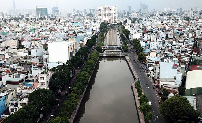 Chỉnh trang gần 110 ha dọc kênh Nhiêu Lộc
