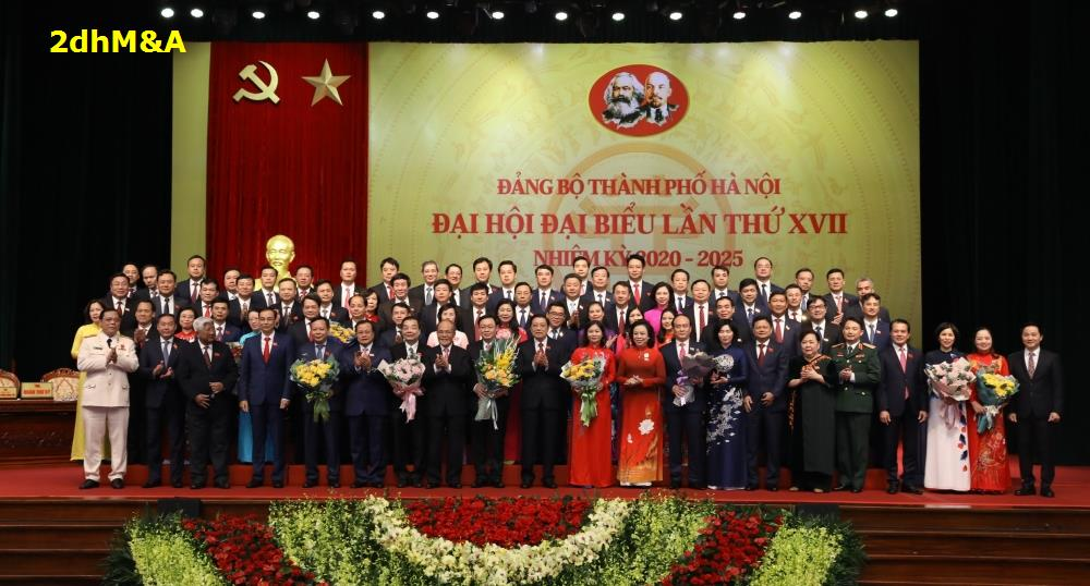 Danh sách Ban Chấp hành, Ban Thường vụ, Thường trực Thành ủy và Ủy ban Kiểm tra Thành ủy Hà Nội khóa XVII, nhiệm kỳ 2020-2025