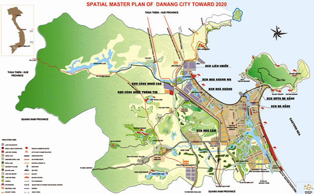 Danh sách các Khu Công Nghiệp thành phố Đà Nẵng