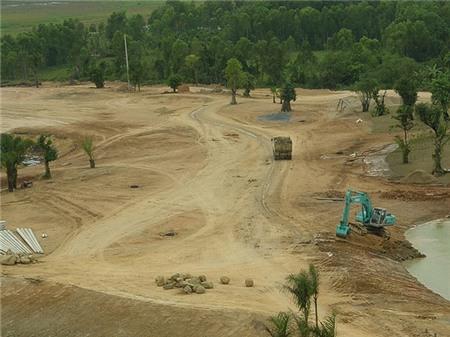 Đấu thầu dự án sân golf 'khủng' ở TP HCM