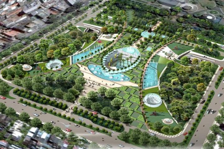 Dự án bãi đậu xe ngầm Sân vận động Hoa Lư, Phường Đa Kao, Quận 1 | 2dhHoldings