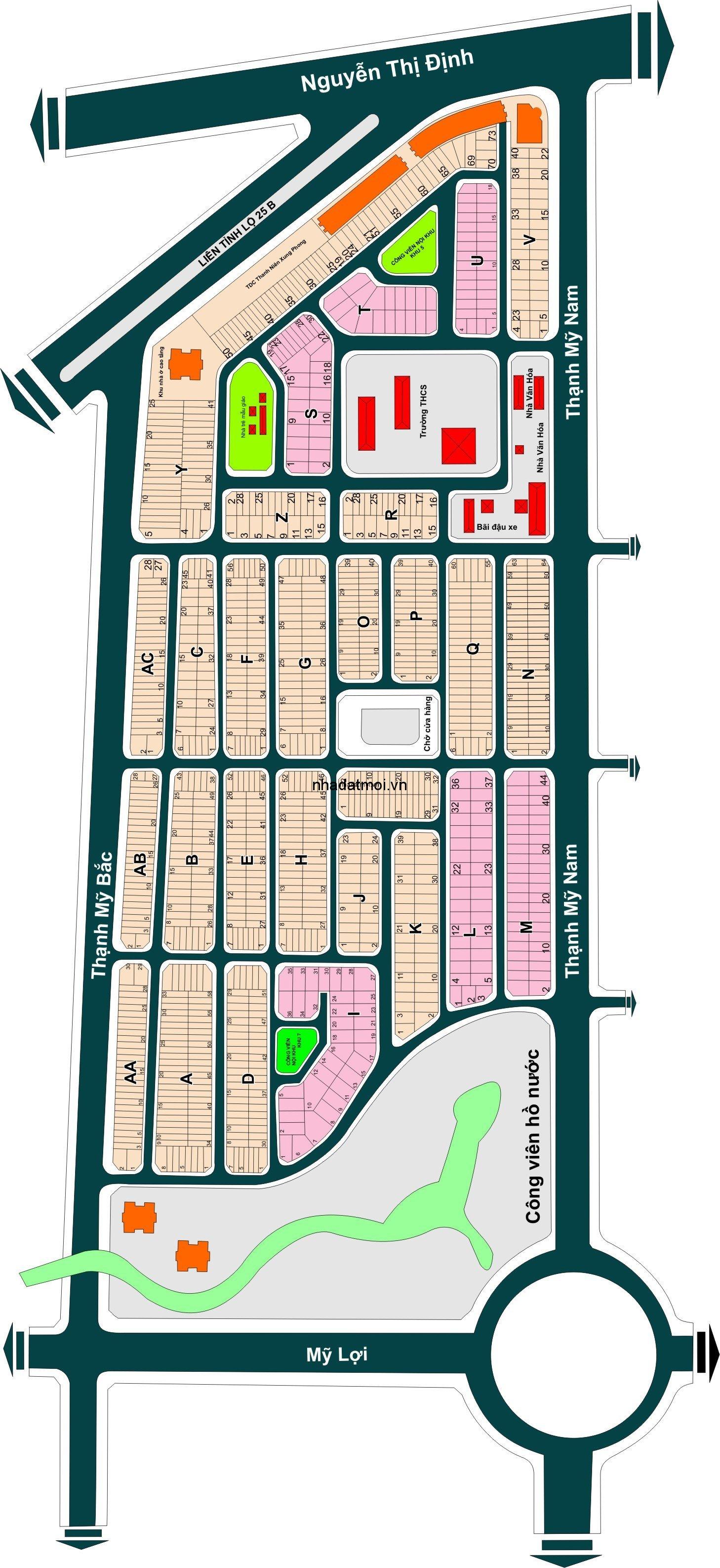 Dự án Công ty phát triển nhà quận 2 trong khu 143 ha Quận 2