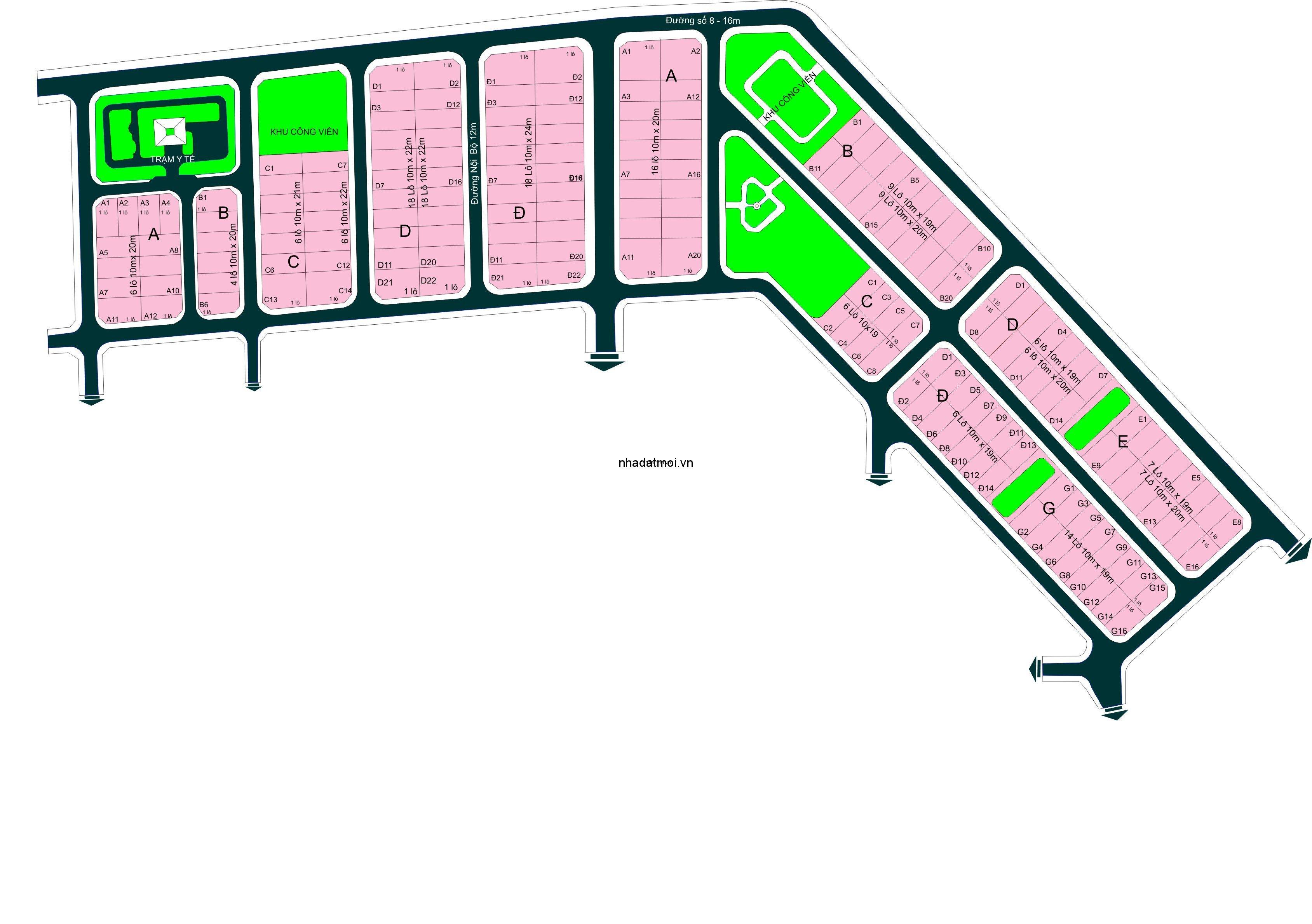 Dự án DV quản lý nhà Q1 trong khu 154 ha Khu dân cư Bình Trưng Đông - Cát Lái Quận 2