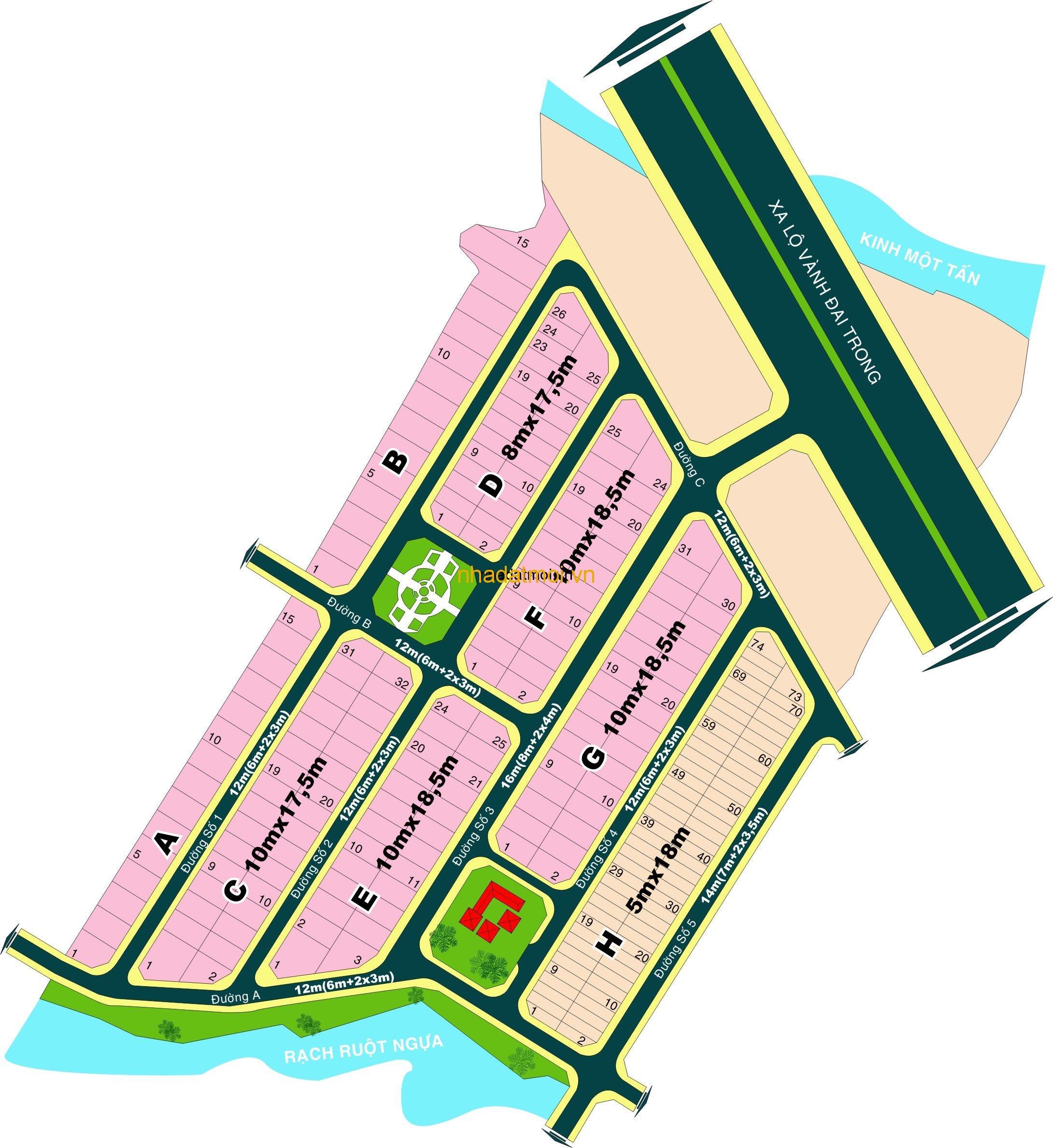 Dự án Hưng Phú 1 Quận 9