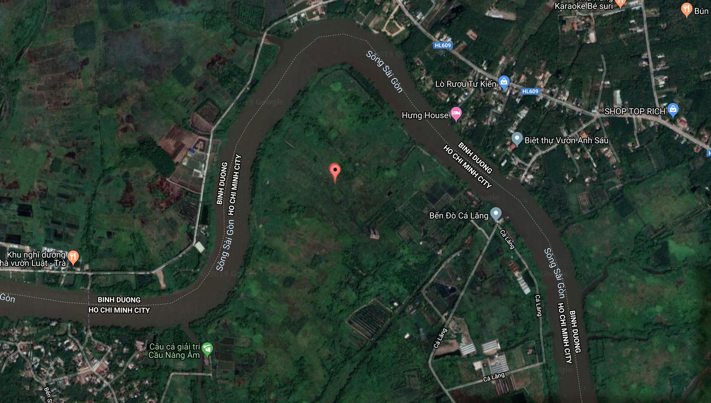 Dự án Khu du lịch sinh thái – nghỉ dưỡng 93ha tại xã Phú Hoà Đông, huyện Củ Chi, Tp.HCM