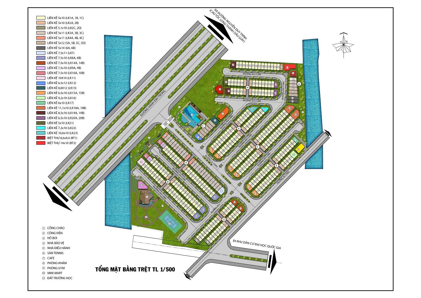 Dự án Mega Village Quận 9