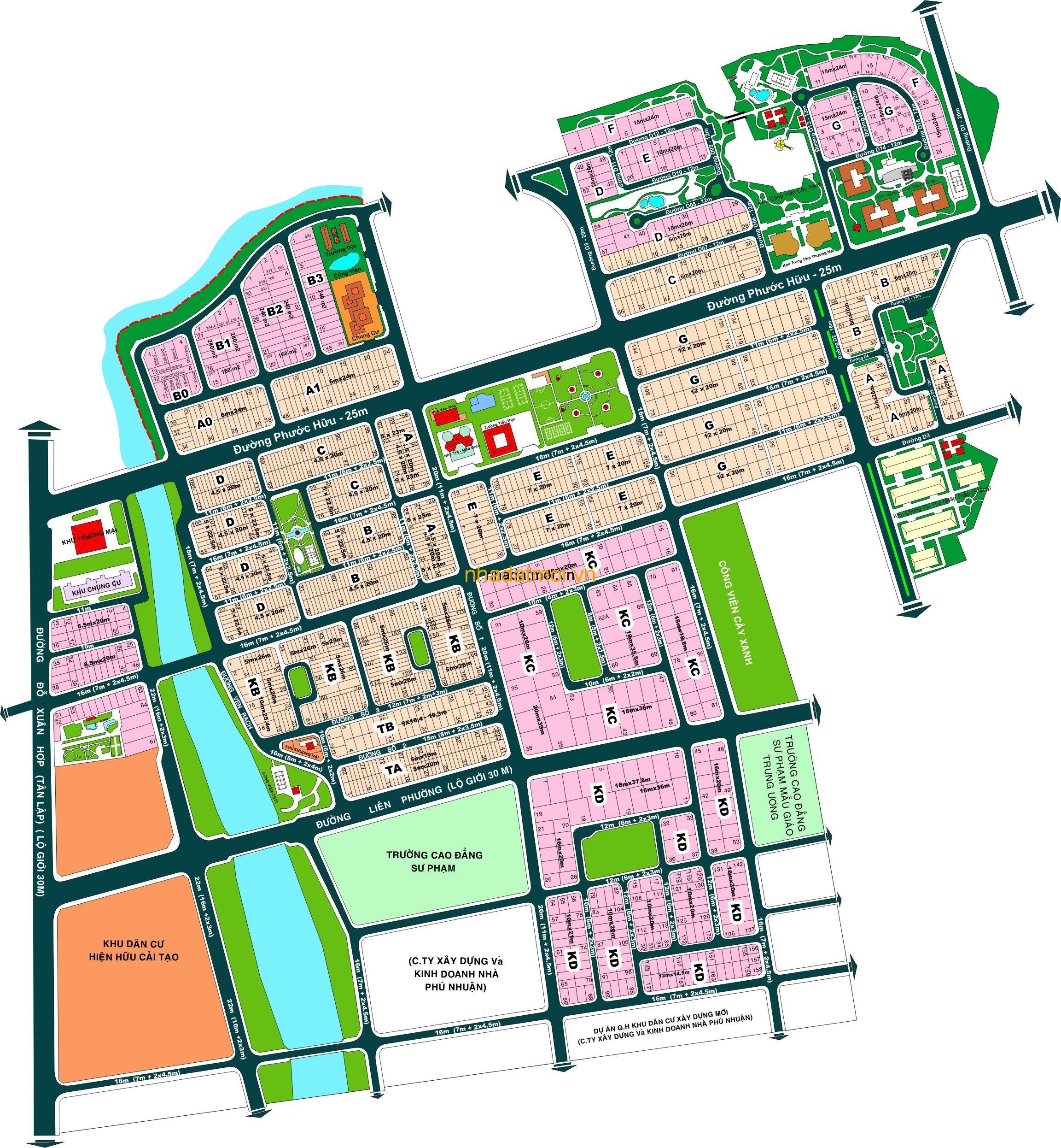 Dự án Nam Long - Kiến Á Quận 9