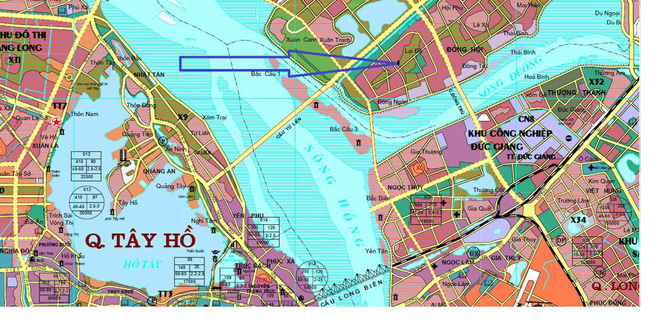 Hà Nội dự định xây 4 cầu 1,4 tỷ USD đối ứng bằng quỹ đất 836ha đối ứng nằm ở đâu?
