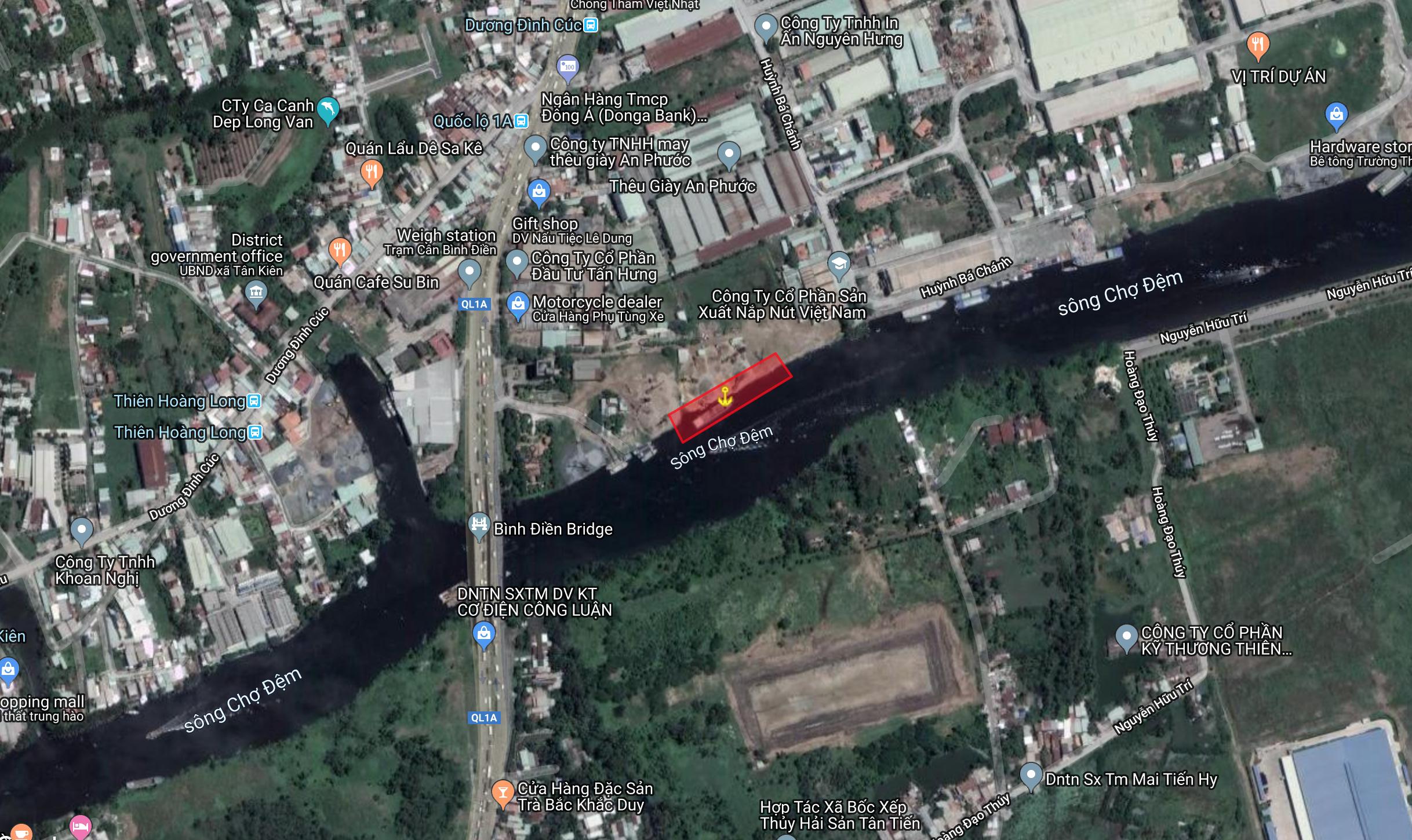 HCM | Cảng An Phước Xã Tân Kiên,Huyện Bình Chánh,Tp.HCM | Bán cảng đường thuỷ | Cảng Sông