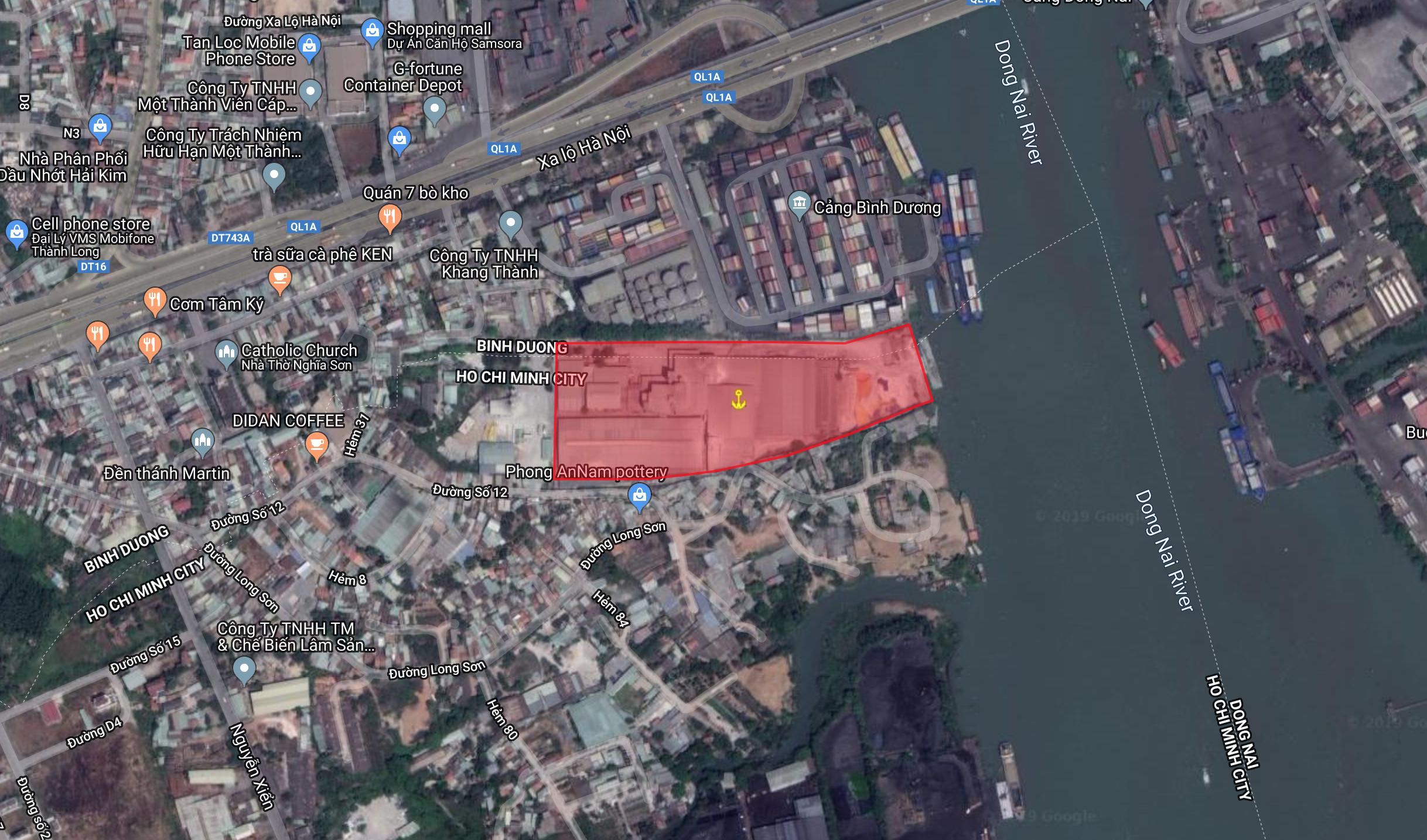 HCM | Cảng Xi măng Sài Gòn, phường Long Bình, quận 9 Tp.HCM | Bán cảng đường thuỷ | Cảng thuỷ nội địa
