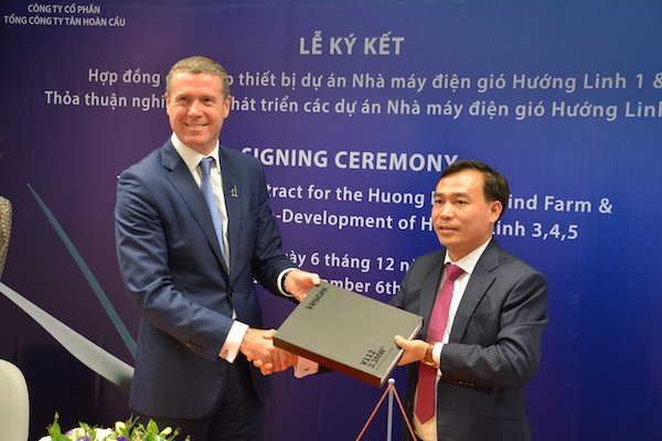 Hơn 22 triệu euro đầu tư dự án điện gió tại Quảng Trị